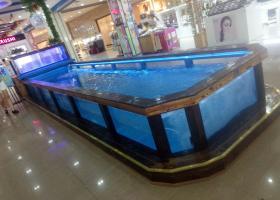 2018年5月15日,溜溜鱼进入南昌蓝海购物广场